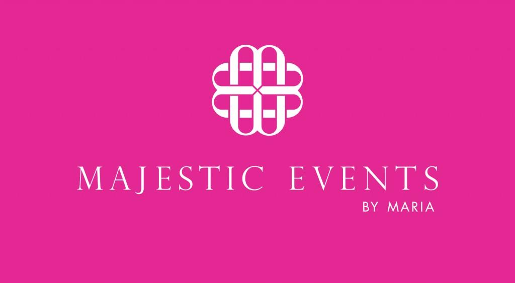 Majestic Event planner business logo design | San Antonio, Texas