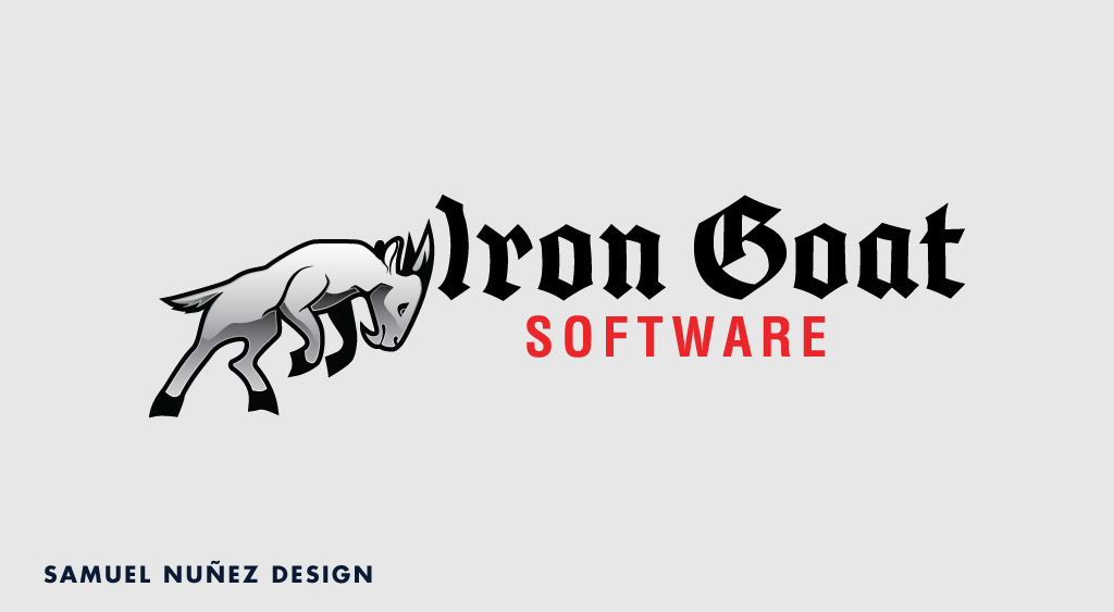 Iron Goat Software Logo Design